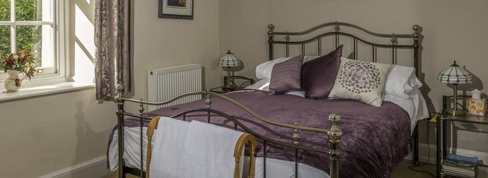 Amethyst Room at Old Vicarage B&B Kenton Exeter